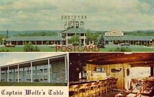 KEYSTONE MOTEL & CAPTAIN WOLF'S TABLE, NEW CUMBERLAND, PA.