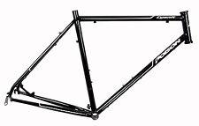 Poison Cyanit Cyclocross Stahl Rahmen schwarz mit Steuersatz Gr.56 ES-R-17-14
