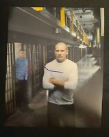DOMINIC PURCELL SIGNED 8X10 PHOTO PRISON BREAK WENTWORTH D W/COA+PROOF RARE WOW