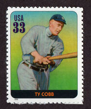 UNITED STATES, SCOTT # 3408-D, SINGLE STAMP OF TY COBB, BASEBALL LEGEND, MNH