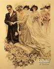 The Wedding - Art Print Of Vintage Art