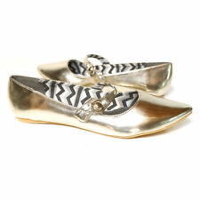 Ballet Flats Casual Wet look, Shiny Shoes for Women