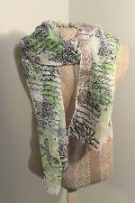 Woman's Scarf Multi color Silky