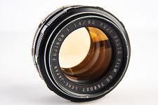 Fuji Fujinon 50mm f/1.4 Standard Prime Non EBC Lens for M42 Screw Mount V17