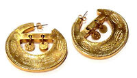Bijou alliage doré boucles d'oreilles originales clous  earings