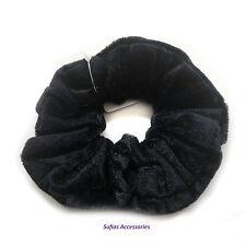 Soft Velvet Hair Scrunchie Ponio Elastic Band Tie Back To School Big Girls Large