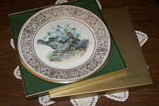 Lenox - Boehm Birds Plate 1978 - Mockingbird with Box - Exceptional Condition