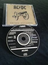 AC/DC FOR THOSE ABOUT TO ROCK CD AUSTRALIA BLACK ALBERT PRODUCTIONS 4652512 SONY