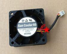 1pcs Sanyo 6025 6CM 9A0612D4D031 Fan 12V 0.21A
