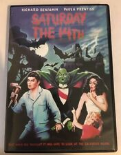 Saturday The 14th, Rare OOP DVD!  VG+ Shape! Richard Benjamin, Paula Prentiss