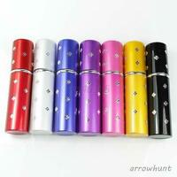 Mini Refillable Perfume Scent Pump Portable Atomizer Bottle Travel Spray 5ml Hot