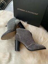 Athena Alexander Women's Rennes Ankle Boot, Shimmer, Size 6.5