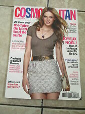 Cosmopolitan France Magazine Zuzana Kopuncova Cover December 2013 Issue