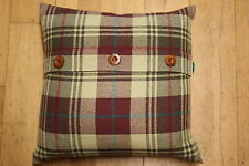"18"" Cushion Cover - Reddish Brown/Gold"