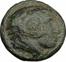 Alexander III the Great as Hercules 336BC Ancient Greek Coin Bow Club i39307