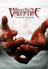 "Bullet For My Valentine Drapeau/Drapeau ""Temper Temper"" Poster Flag"