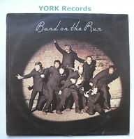 WINGS - Band On The Run *WITH POSTER* - Excellent Con LP Record Apple PAS 10007