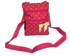 POLKA DOT LIME GREEN & PINK hipster purse teen handbag crossbody bag messenger