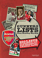 (Very Good)-Gunners Lists: 250 lists of essential and nonessential Arsenal facts