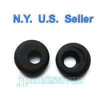 2 Black Earbuds for Motorola H12, H15, H690, H270, H780, Hk100, OASIS HX520