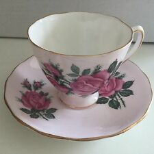 Vintage Colclough Bone China Tea Cup and Saucer 1950s