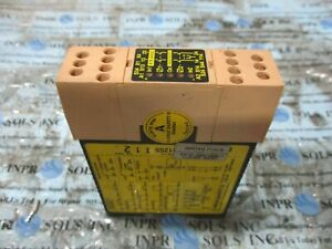 JOAKB SAFETY RT9 24VDC Safety Relay Unit 24VDC 6A 250VAC 150W 0-250mA *TESTED*