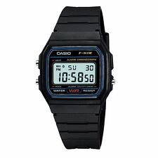 Classic Casio F91W Digital RETRO Alarm Stopwatch Black colour Watch NEW