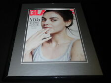 Mila Kunis Framed 11x14 ORIGINAL 2016 Glamour Magazine Cover Family Guy Meg