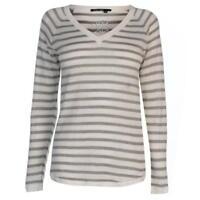 MARC AUREL M Aurel Striped Knit Ladies Long Sleeved Jumper Size UK 6