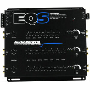AudioControl EQS 6-Channel Trunk Mount 13-Band Graphic Equalizer w/ Line Driver