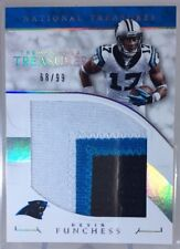 2016 National Treasures Tremendous DEVIN FUNCHESS Jumbo Logo Patch /99 Panthers