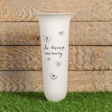 Thoughts of You Graveside Memorial Spiked Flower Vase - in Loving Memory
