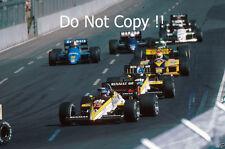 Patrick Tambay & Derek Warwick Renault RE60B Australian GP 1985 Photograph