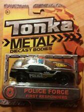 Tonka Metal DieCast Bodies Police Force First Responders
