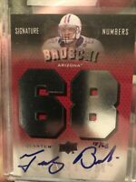 teddy bruschi 2013 UD 68 Signed Card New England Patriots 15 of 68 Tom Brady