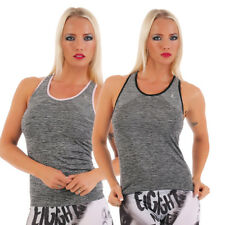 Top Damen Sporttop Fitness Shirt XL BH Training Oberteil Top Sport Yoga Joggen