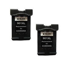 Reman Ink Cartridge for Hp Officejet 4500 G510A G510G G510N - Pack Of 2 Black