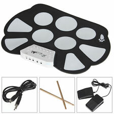 Roll up Portable 9 Pad USB 9 Pad Musical Instrument Electronic Drum Kit W758