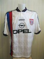 FC Bayern Munich 1995/1996 Away Sz XL Adidas football shirt jersey trikot soccer