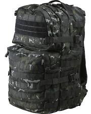 BTP Black 40 ltr Assault Daysack Military Army Rucksack