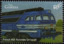 SNCF (France) Class 68000 A1A-A1A Diesel Locomotive Train Stamp #3