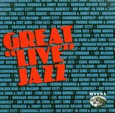 Great Live Jazz - Varie Nuovo CD
