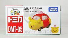TAKARA TOMY TSUM TSUM DISNEY DIECAST MINI CAR WINNIE THE POOH DMT-05 *BRAND NEW*