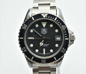 TAG Heuer 1000 Professional 200 Meters 980.013N Divers Watch 37mm