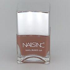 Nails Inc Nail Polish Varnish Chalcot Square Brown Chocolate *used please read*