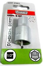 """Steckschlüssel Einsatz 1/2""""x 11 mm - Chrom Vanadium Connex"""