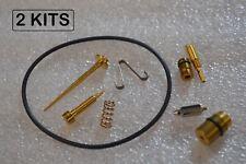 2x Honda CB350 CL350 69-70 Carburetor Rebuild Kit 3D Carb - 2 KITS
