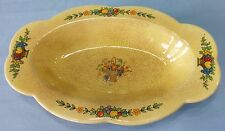 Vintage Golden Maize Sebring Pottery Made For Farberware Small Serving Dish