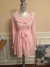 SNIDEL-comfortable soft sleeping dress wear tunic super cute maternity one size