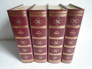 LA BIBLE DE JERUSALEM Pierre de Tartas 1974 illustré , editions rombaldi